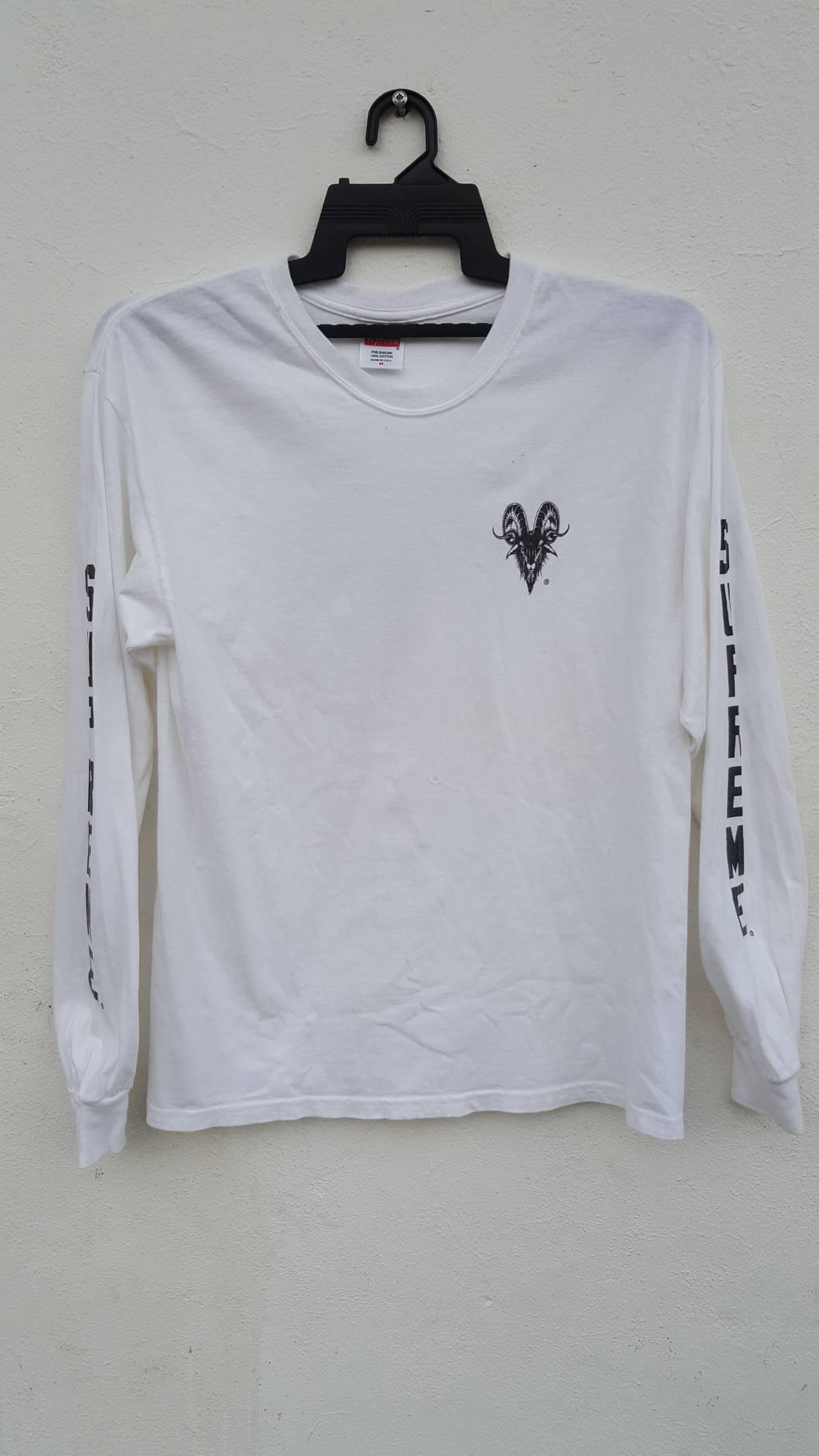 1d5c8473 Supreme Vintage Supreme Goat Pentagram Long Sleeve T-shirt Medium ...
