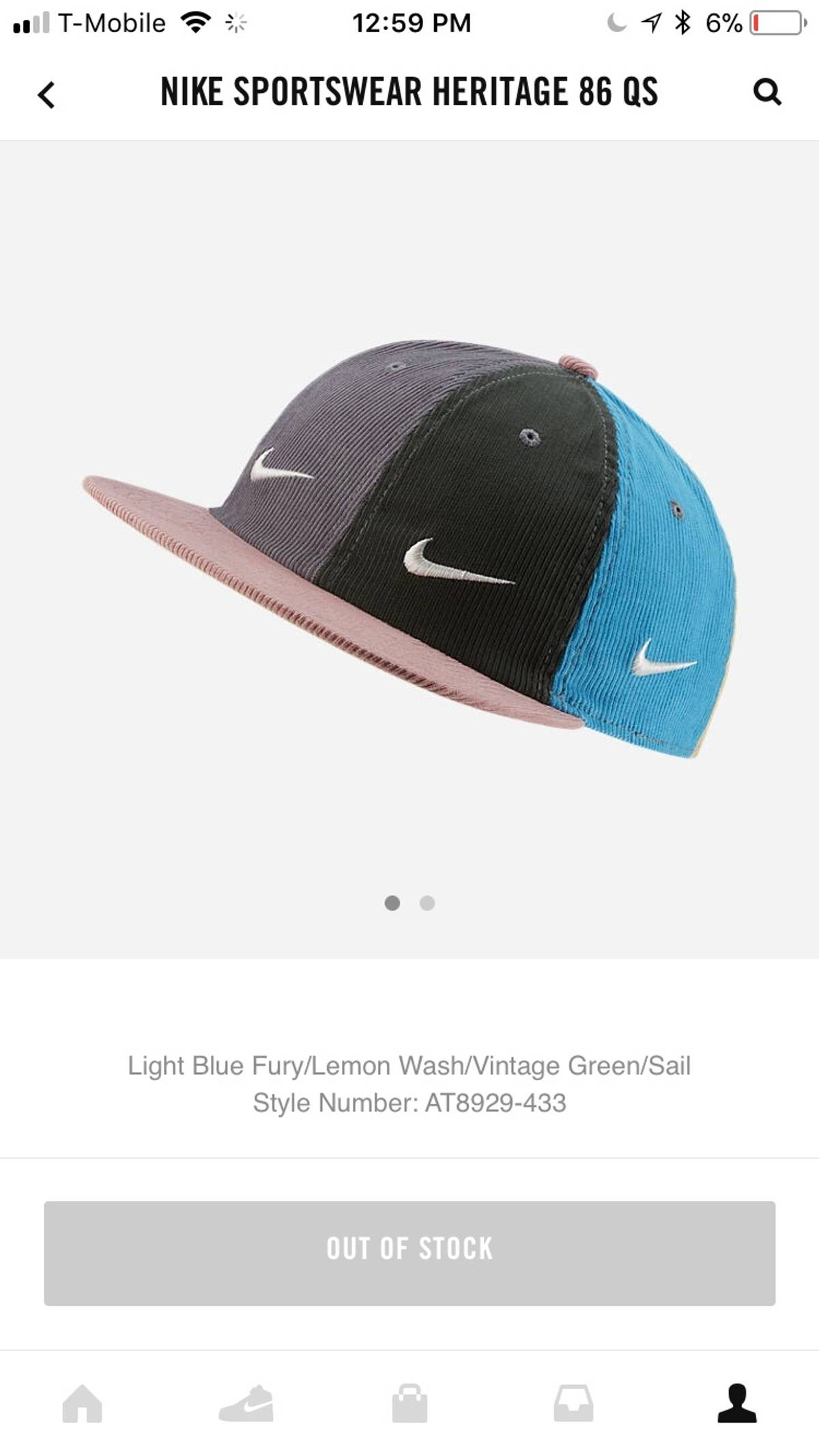 e70d5e316d583 Nike ×. Nike Sean Wotherspoon Hat