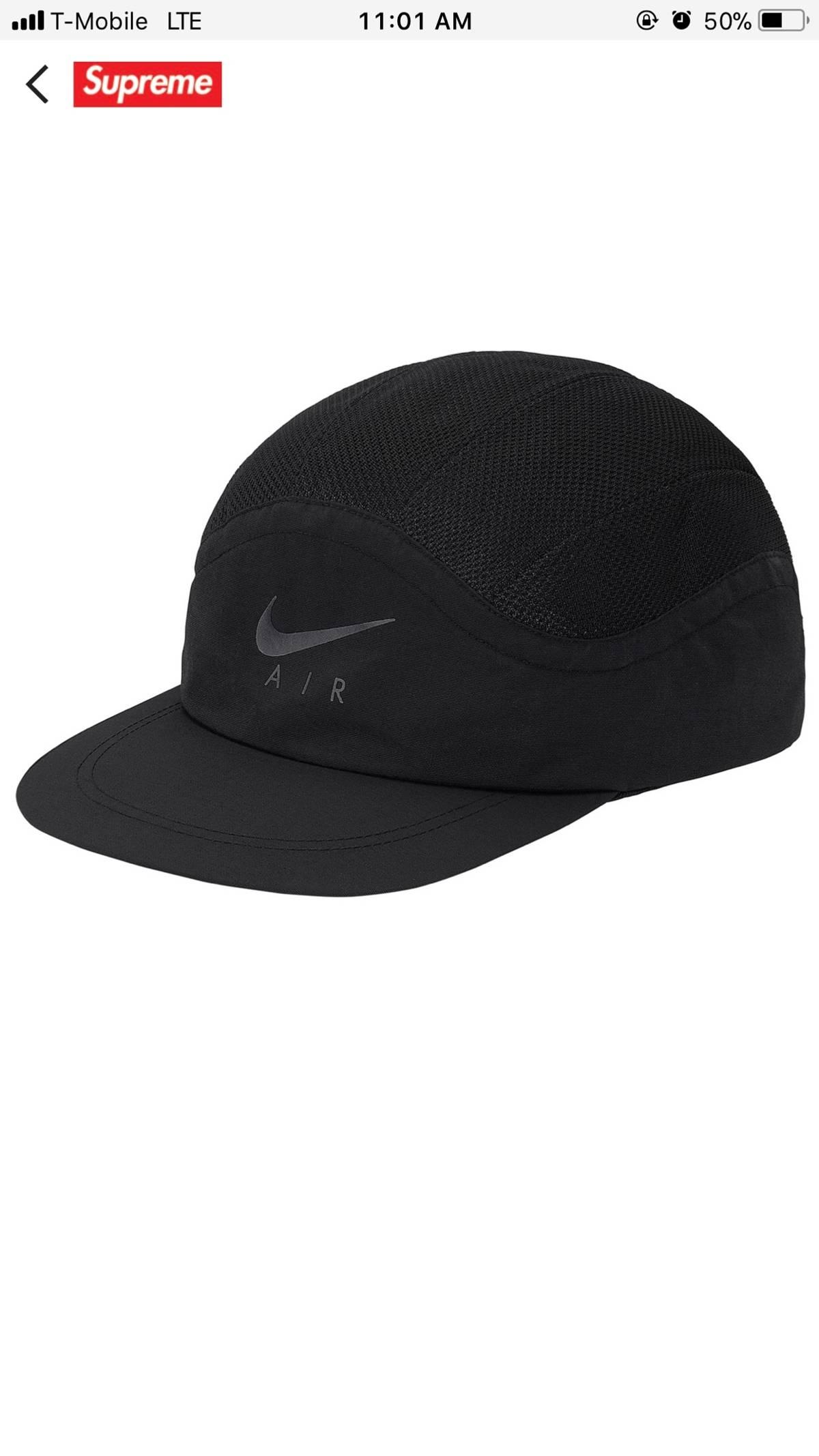 5a884ef5 Supreme × Nike ×. Supreme X Nike Trail Running Hat Black