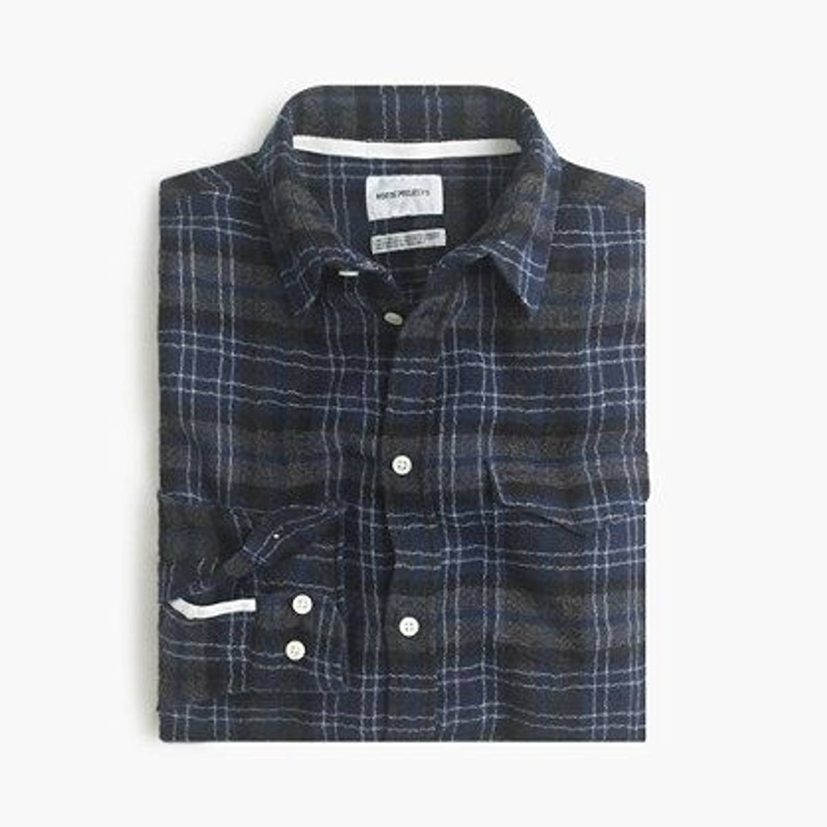 71051eace Norse Projects ×. Norse Projects™ lightweight flannel shirt
