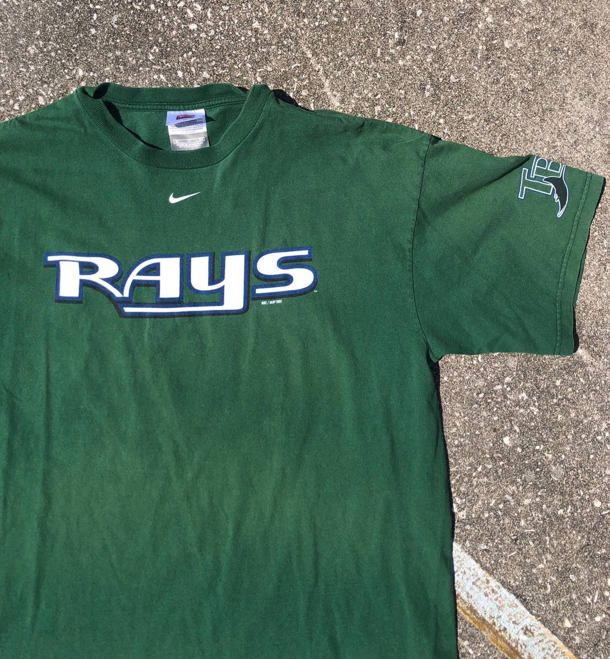 online store d6baa edd91 Mlb × Nike × Vintage Nike Tampa Bay Rays Mens Tee Shirt Xl Green Baseball  2005 Size Xl $27