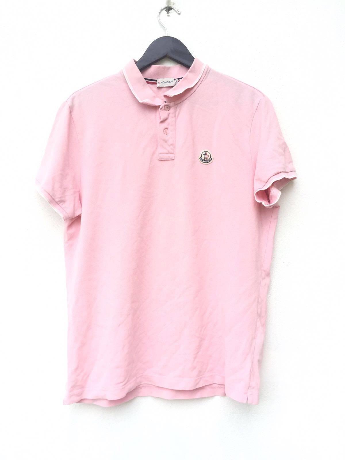 4521d85d3 Moncler Vintage Moncler Polo Shirt Size l - Short Sleeve T-Shirts ...