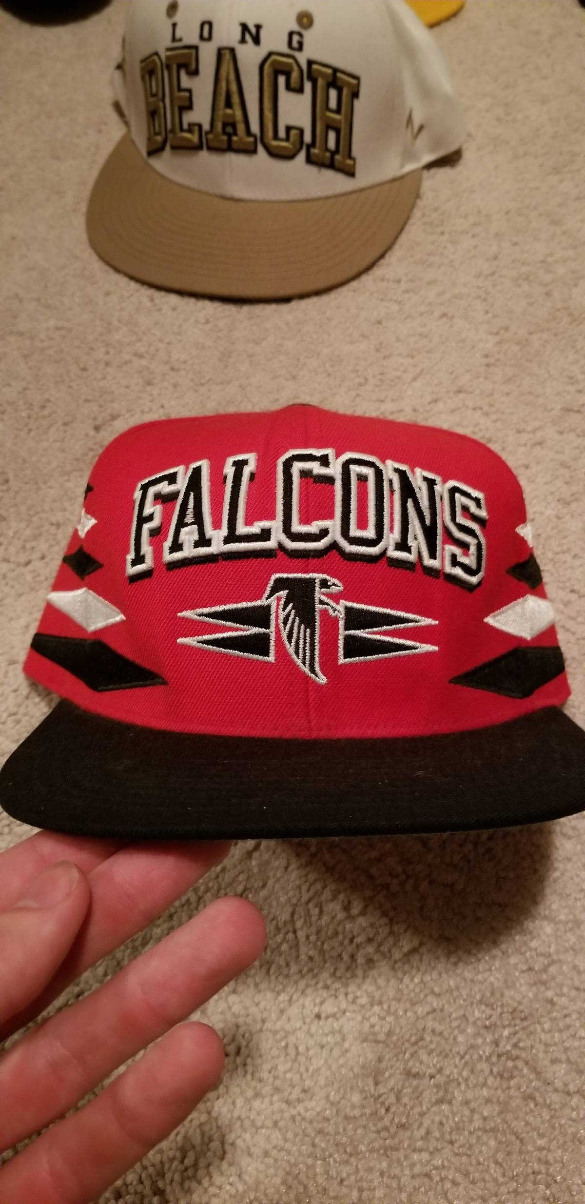 more photos d72bc 10f53 Atlanta Falcons Snapback Hats Mitchell And Ness