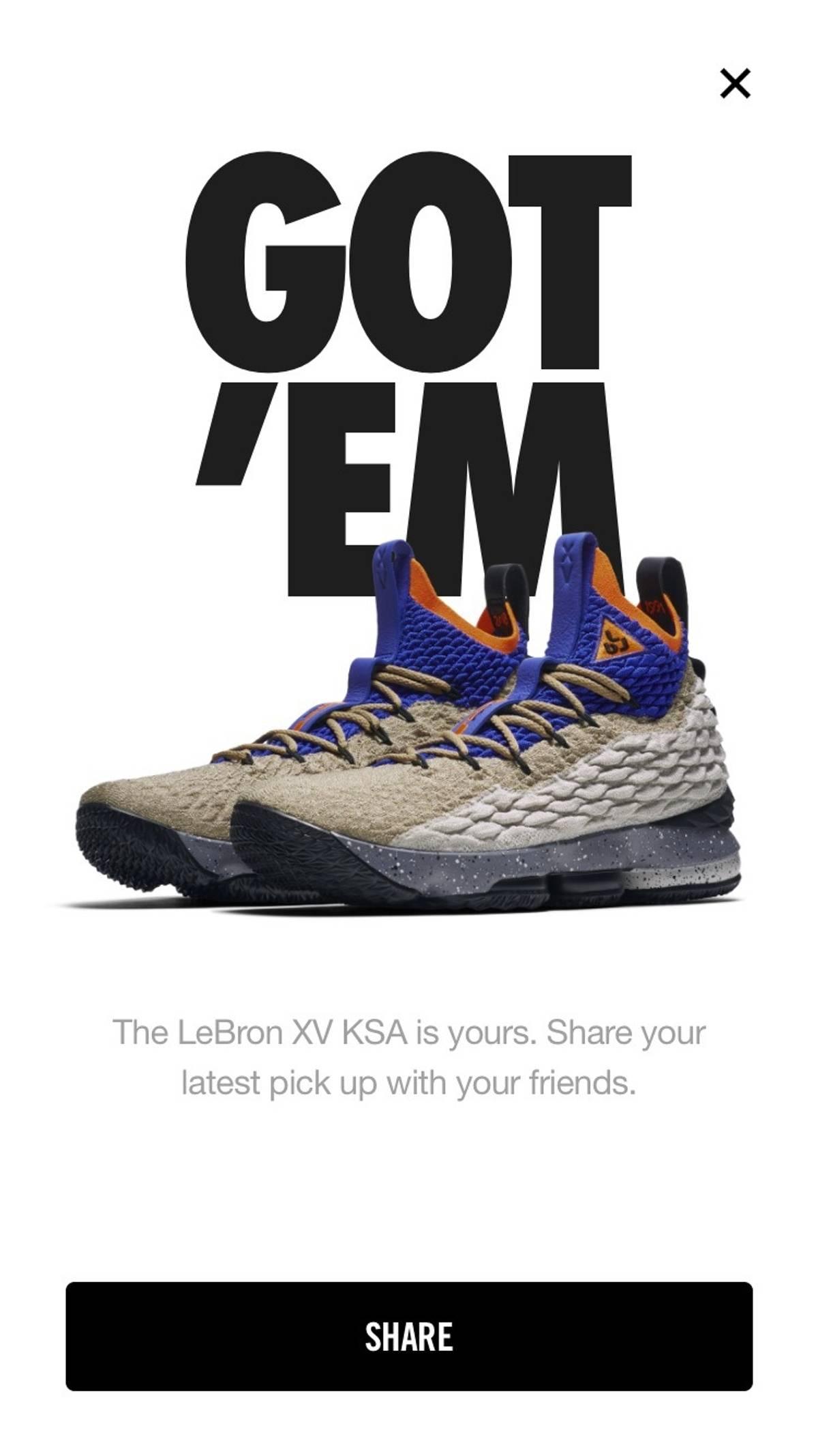 """size 40 a9255 ba403 Jordan Brand Lebron 15 """"Mowabb"""" Size 11 $250"""