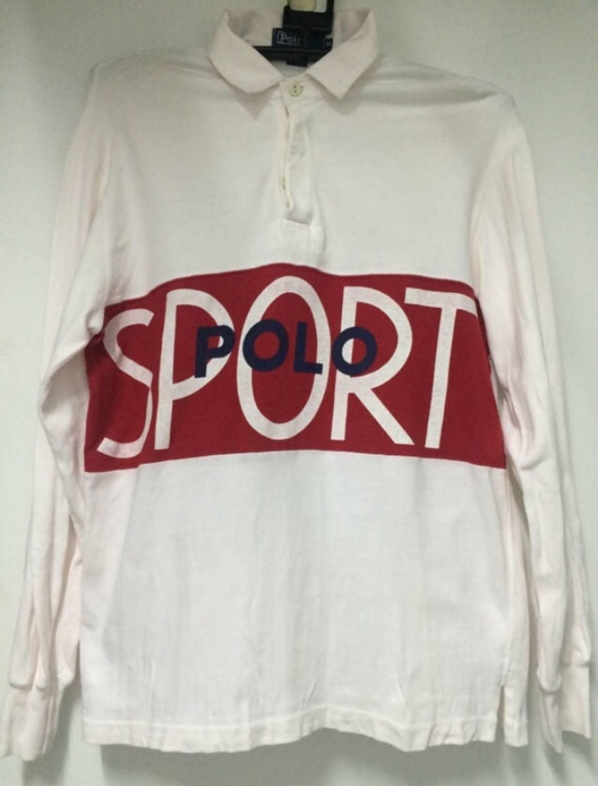 Polo Ralph Lauren Vintage Rare Polo Sport Rugby Shirt Polo Stadium