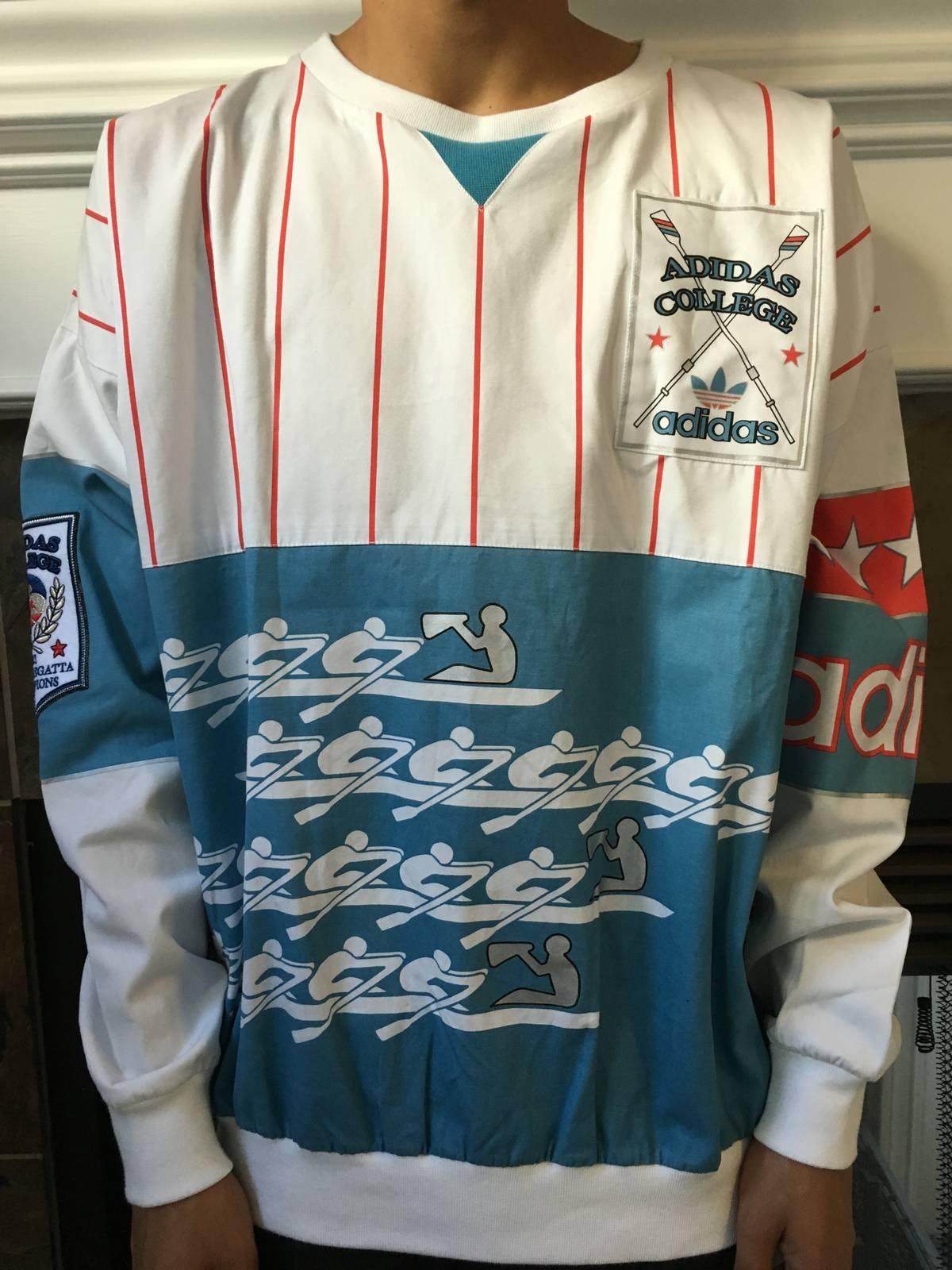 29252775eb111f Adidas ADIDAS Official Retro SAMPLE College 1921 Regatta crewneck Size m -  Long Sleeve T-Shirts for Sale - Grailed