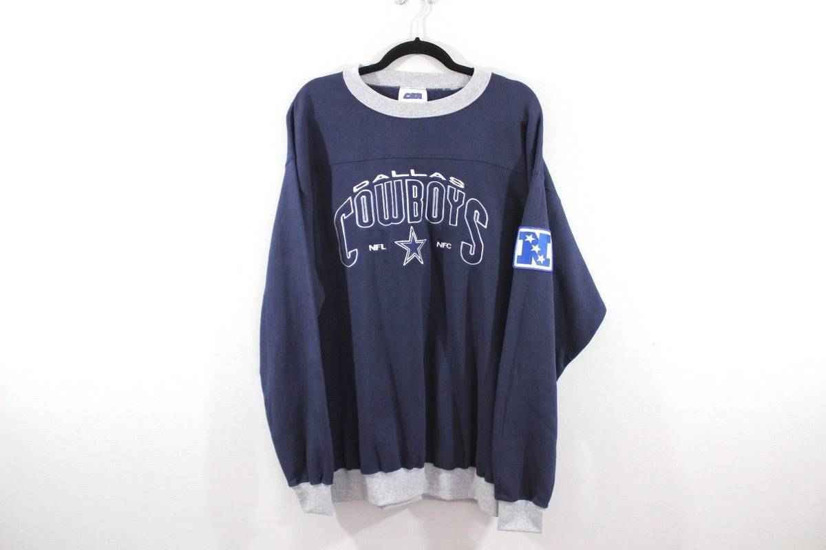 Vintage Vintage 90s Large Dallas Cowboys NFL Football NFC Crewneck ... fd801a344