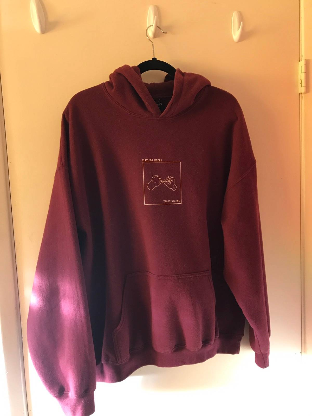 424 On Fairfax Play For Keeps Hoodie Size Xl Sweatshirts