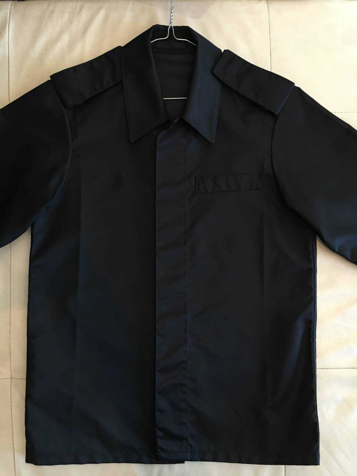 14808e22a36d Prada (Final Drop) Fall 2015 Nylon Shirt Size m - Shirts (Button Ups ...