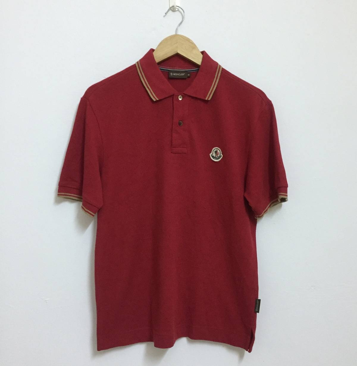 Moncler Moncler Polo Shirt Ringer Size S Made In Macau Shirt Size S