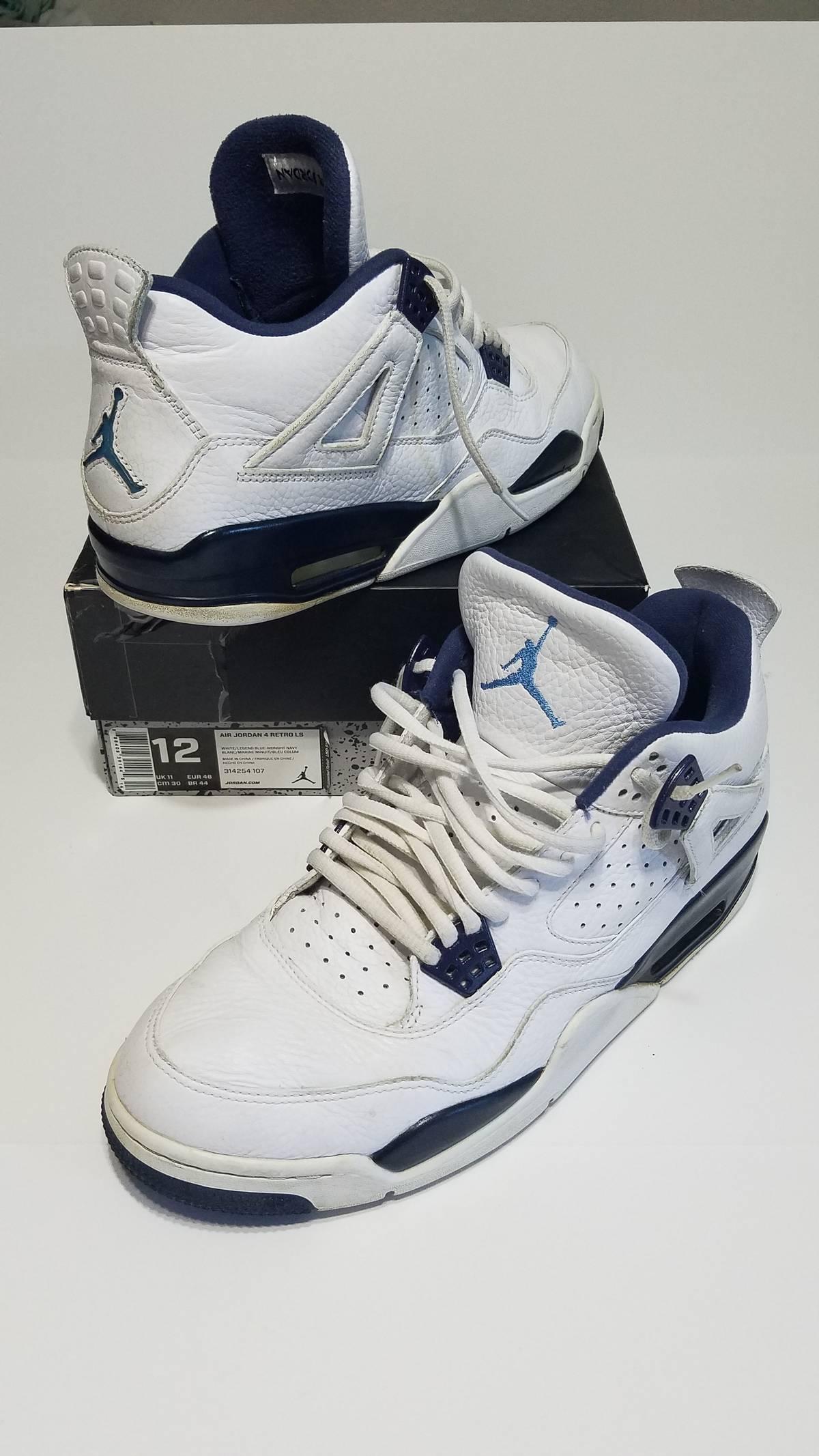 separation shoes 786fb a2719 Jordan Brand Air Jordan 4 Retro Ls Legend Blue Usa Seller Size 12 $84