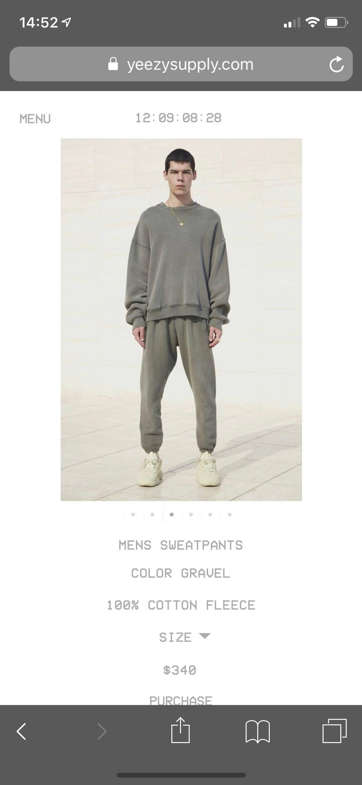 c79720587 Yeezy Season ×. Yeezy Supply Men s Pants