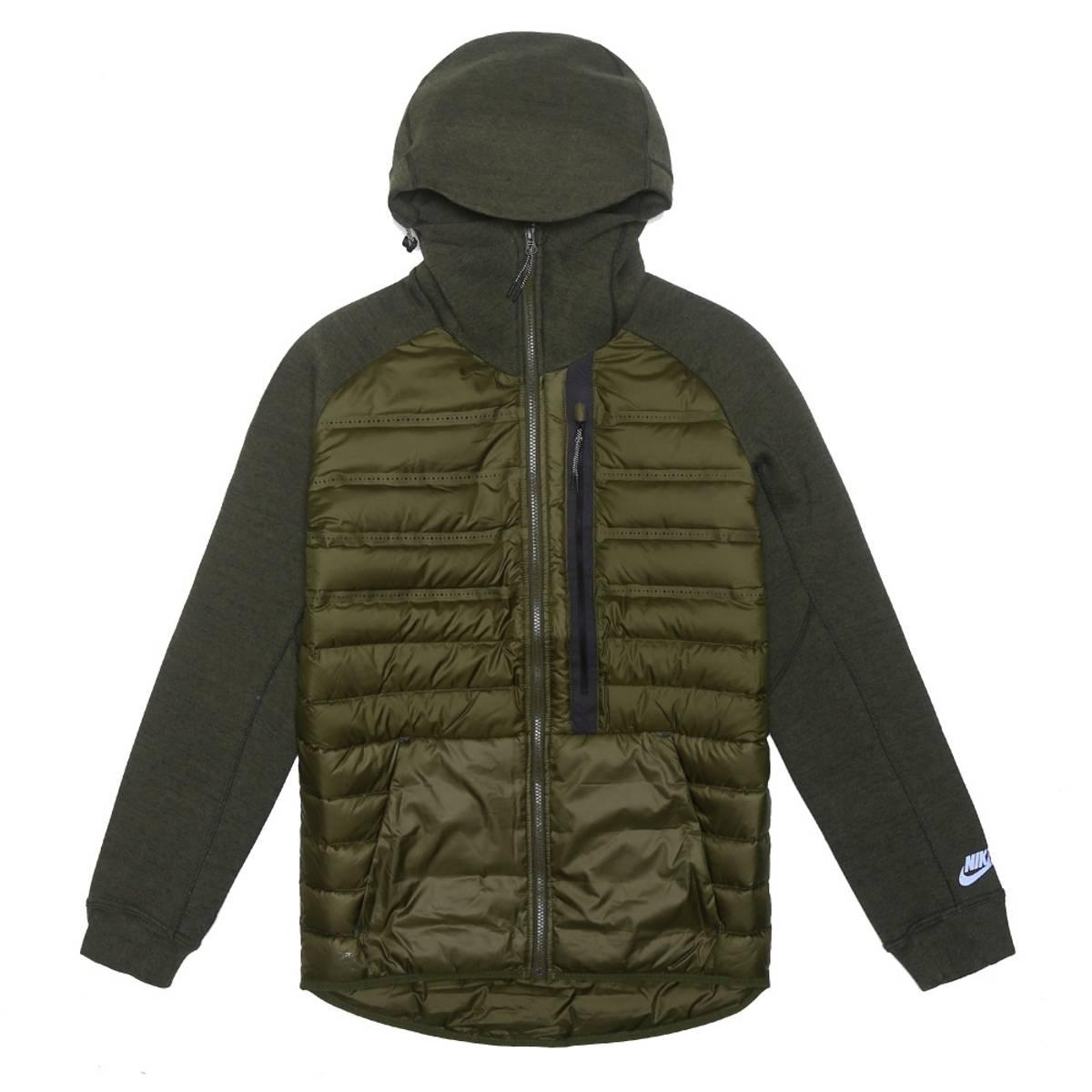 Nike Tech Fleece Aeroloft Jacket - Dark Loden Size xl - Light ... bc51a210ba2d