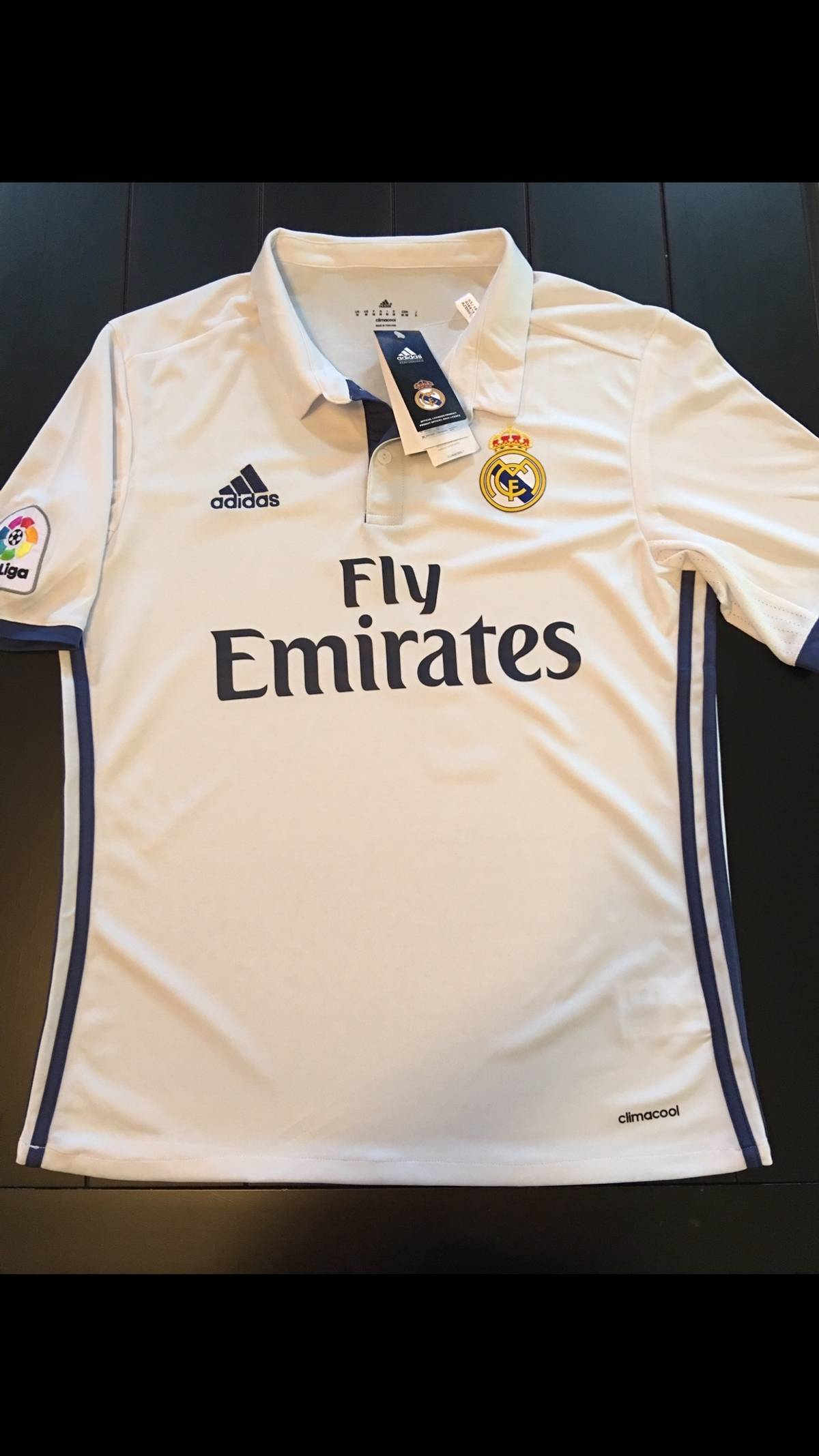 timeless design 5269a fe511 Adidas Cristiano Ronaldo 16/17 Real Madrid Home Jersey Size L $32