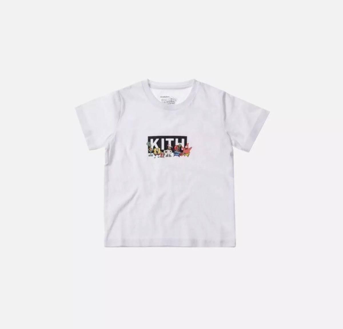 b9d6faed9d2 Kith Nyc Kith Kids X Spongebob Box Logo Tee Kids Size m - Short ...