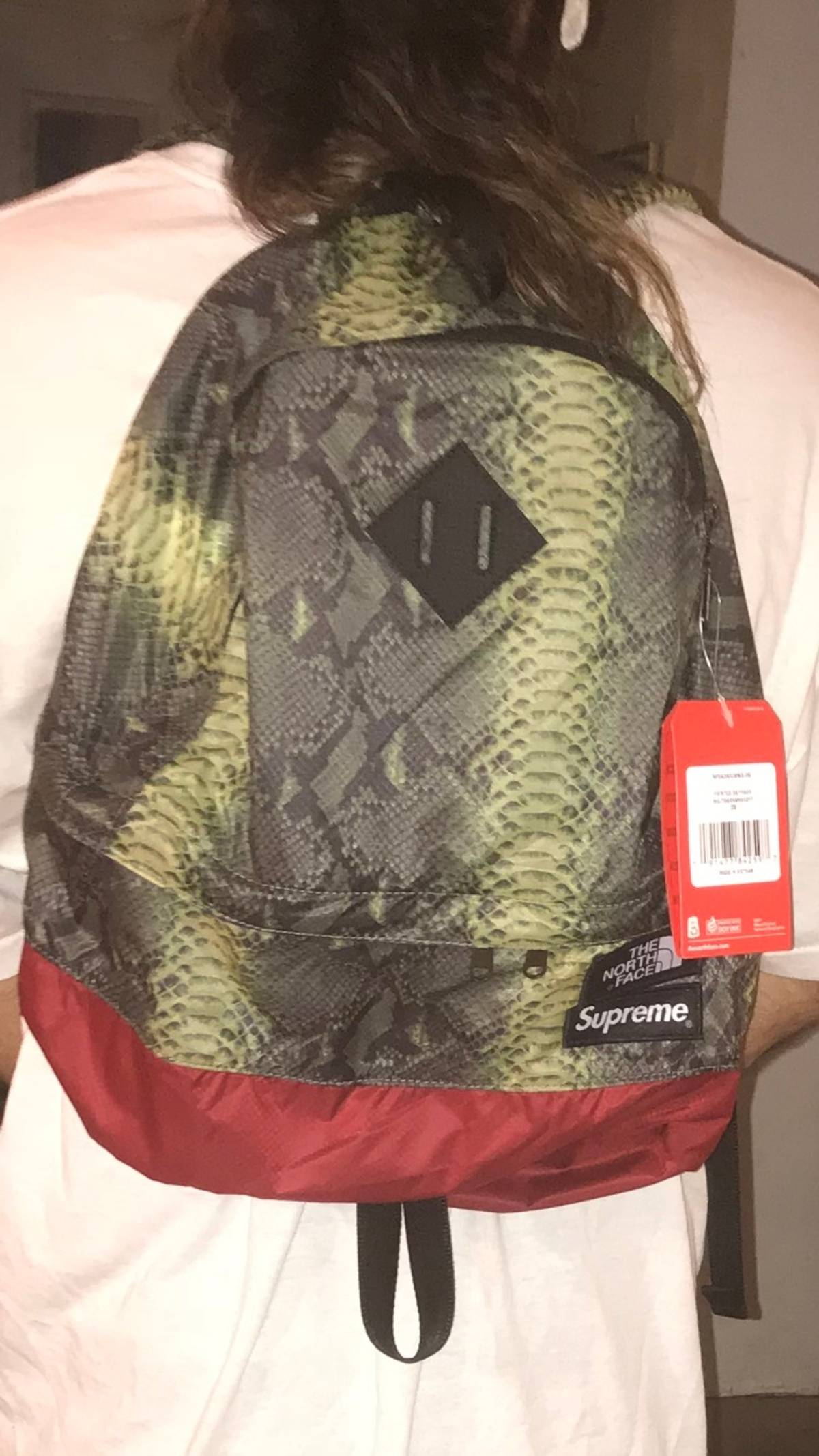10bbcd8db Supreme × The North Face Supreme X The North Face Snake Skin Backpack Green  Size One Size $130
