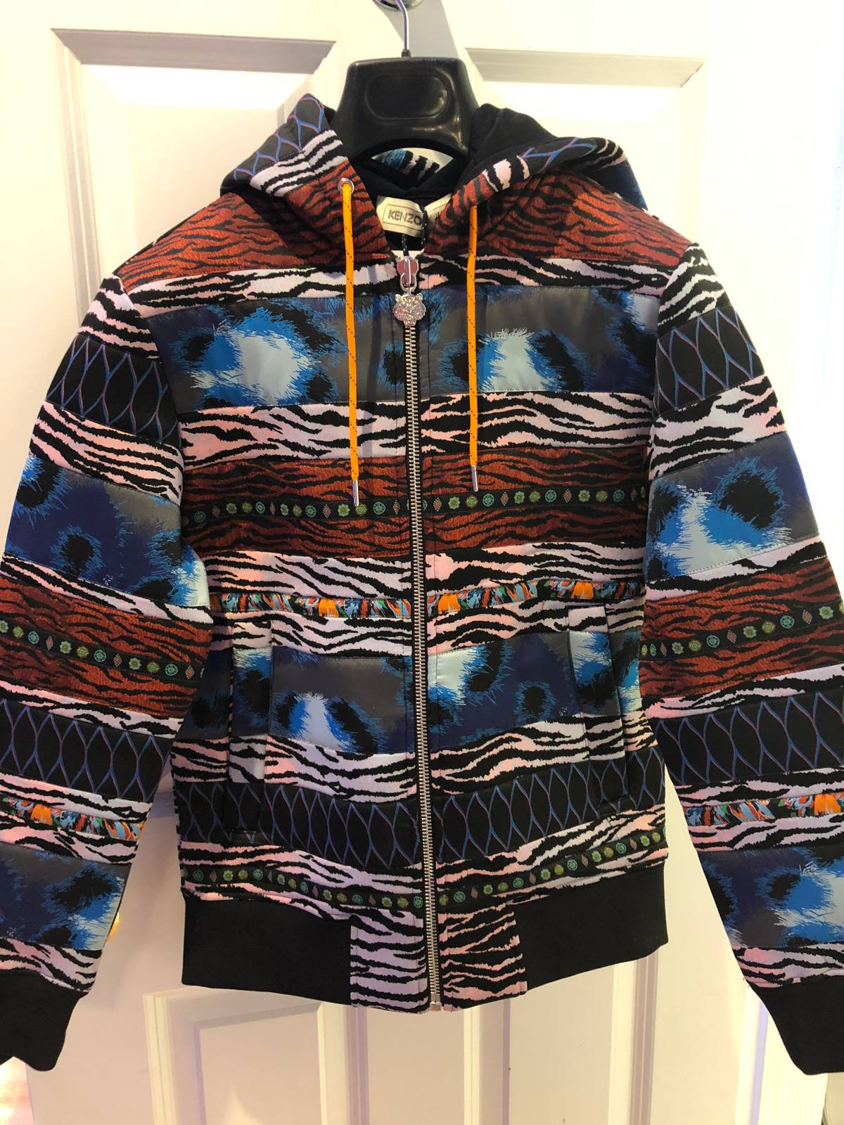b7b3cfa7 Kenzo × H&M ×. BRAND NEW KENZO x HM Multi-panel Hooded/Hoodie Sweatshirt XS.  Size: US ...