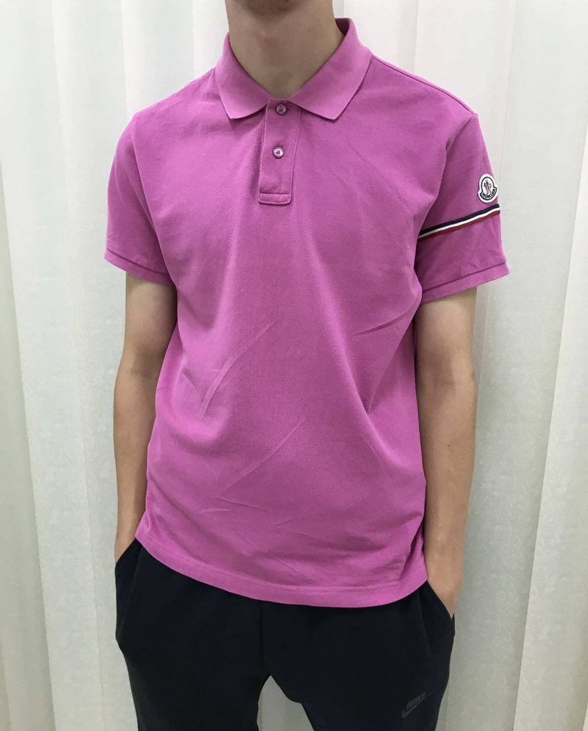 506f482bc Moncler Moncler Polo Shirt Size l - Polos for Sale - Grailed
