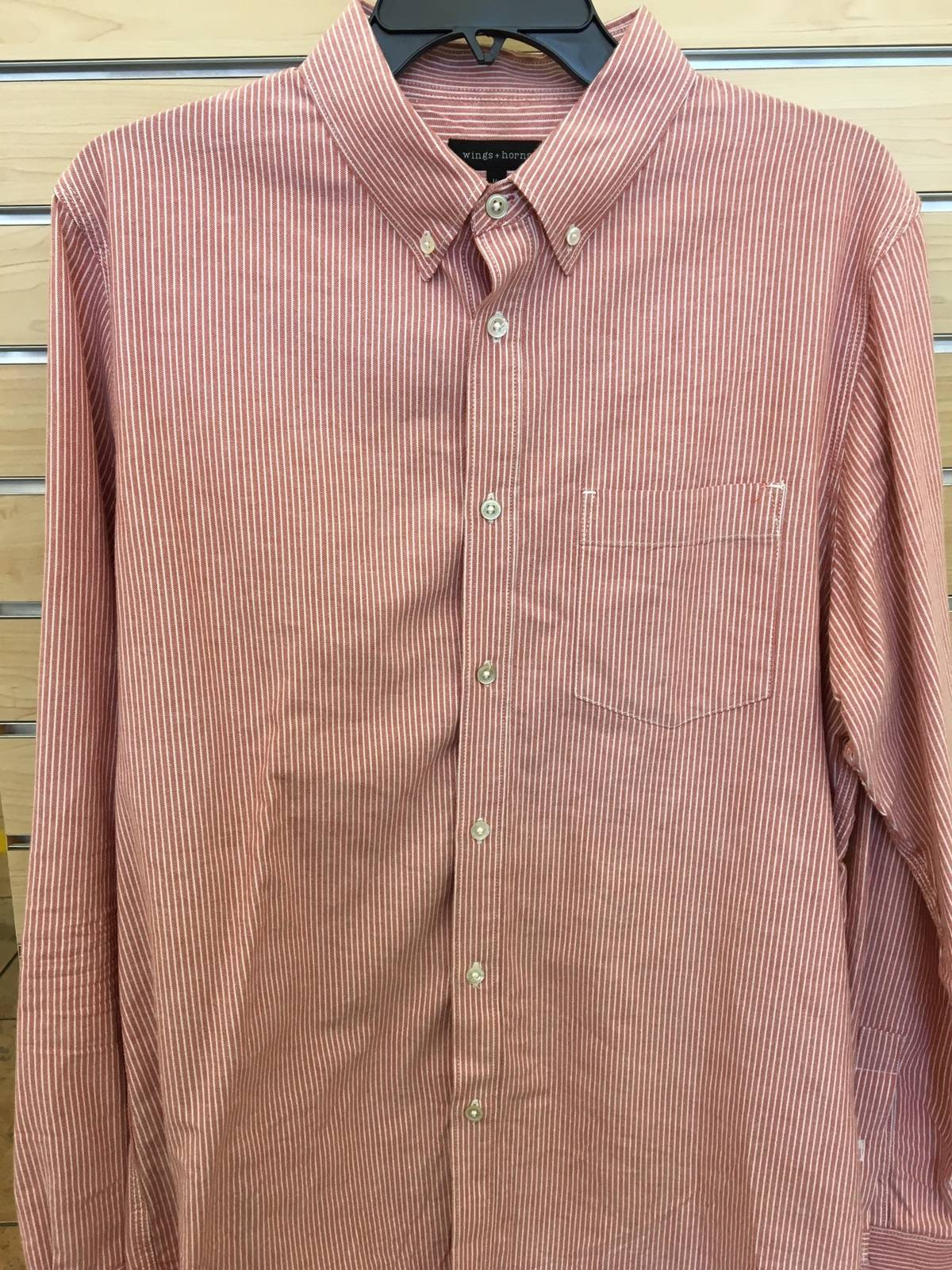 Wings Horns Wings Horns Long Sleeve Button Up Size L Shirts