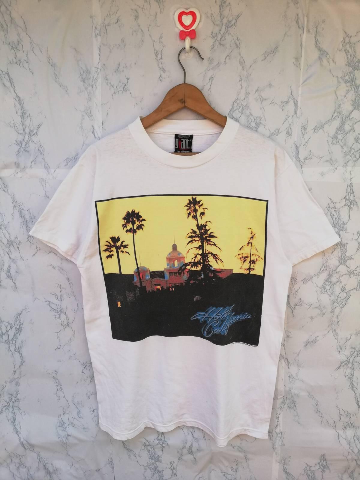 Eagles Hotel California Song Lyrics T-shirt Music Legends Mens or Ladies Tee