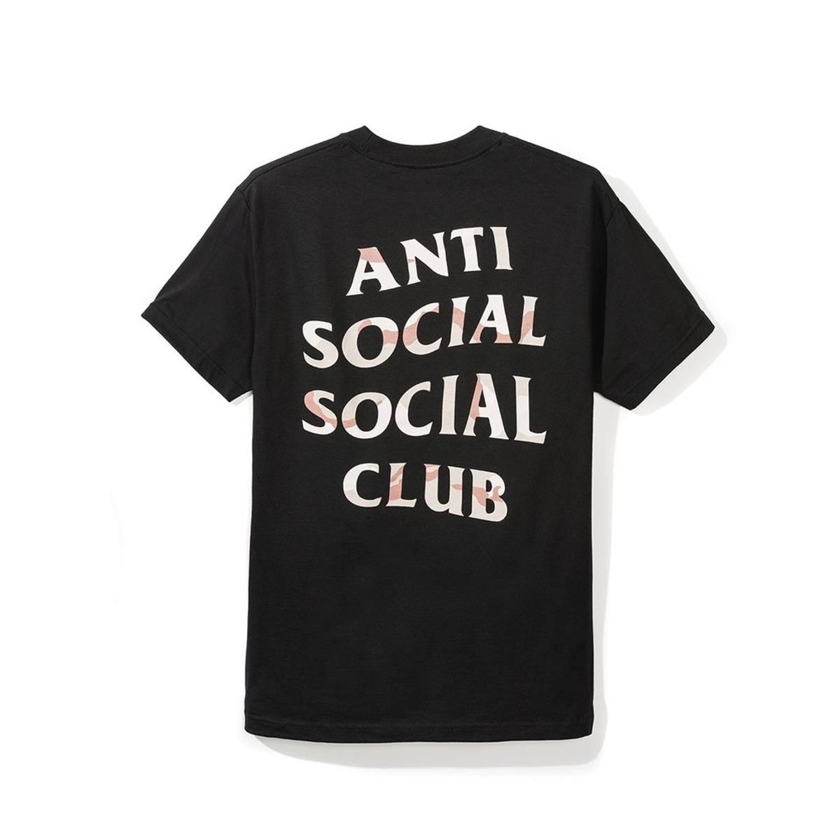 db07f708d9b2 Antisocial Social Club (m) Storm Black Tee