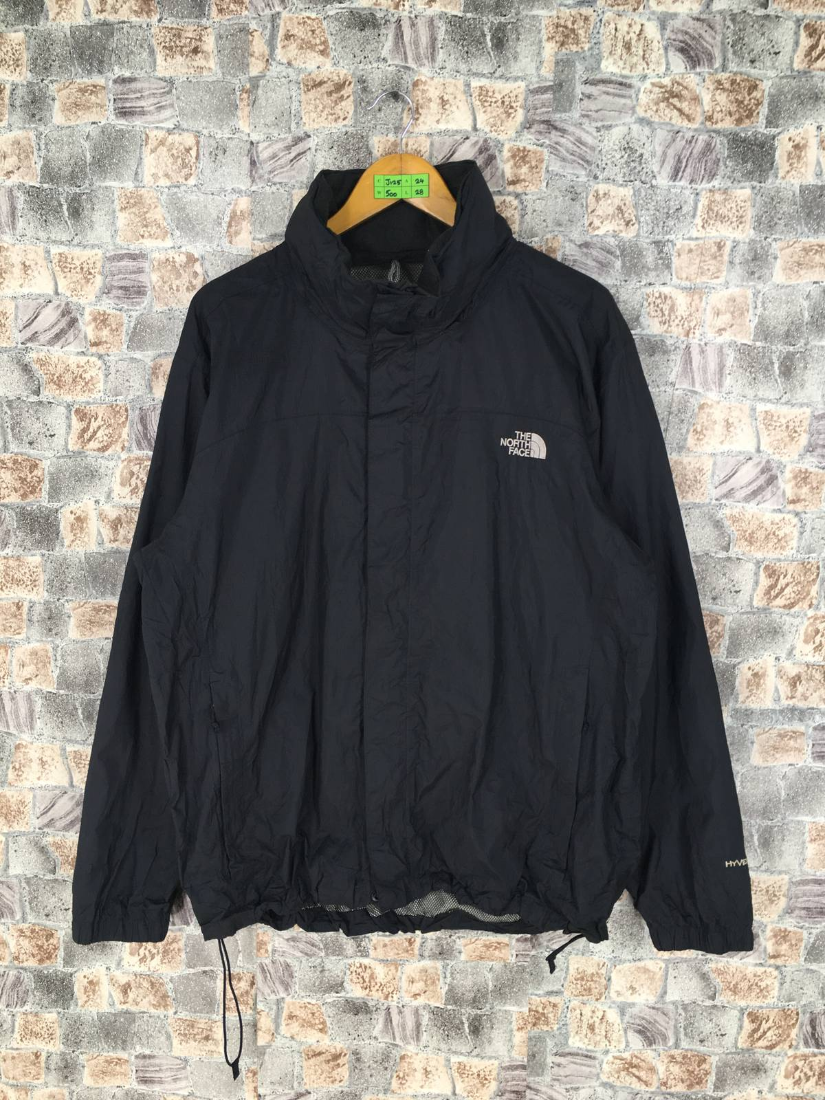 The North Face × Windbreaker Vintage 90's The North Face Jacket Hoodie Mens  Large North Face Hyvent Sportswear Windbreaker Jacket Coat The North Face