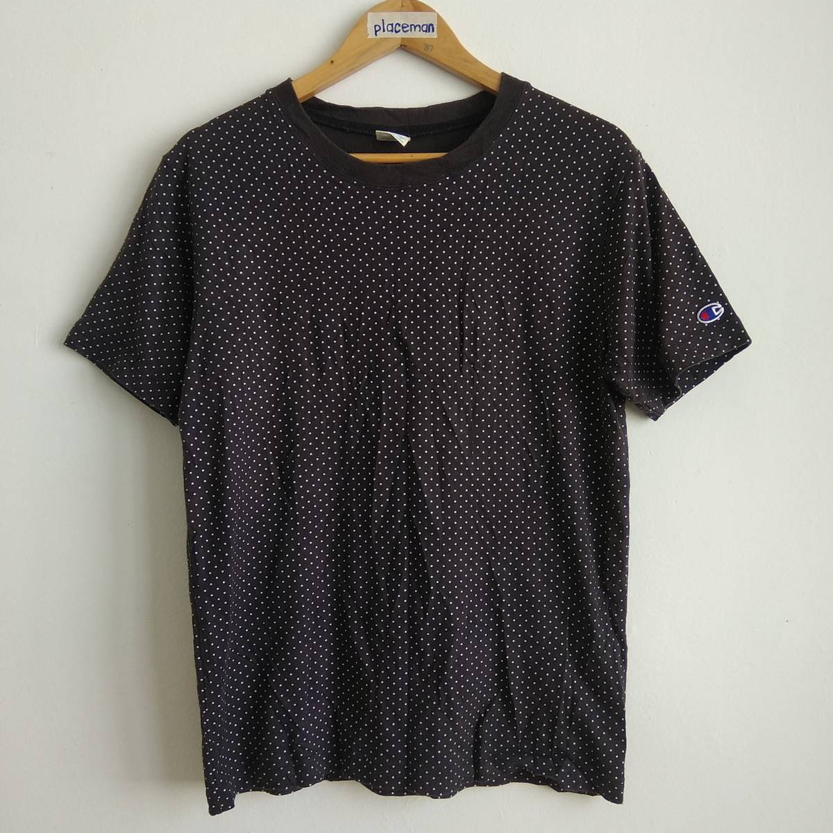 7c6b8cd505de Champion × Streetwear ×. champion polka dot tee shirt authentic american  athletic apparel. Size: US M / EU 48-50 ...