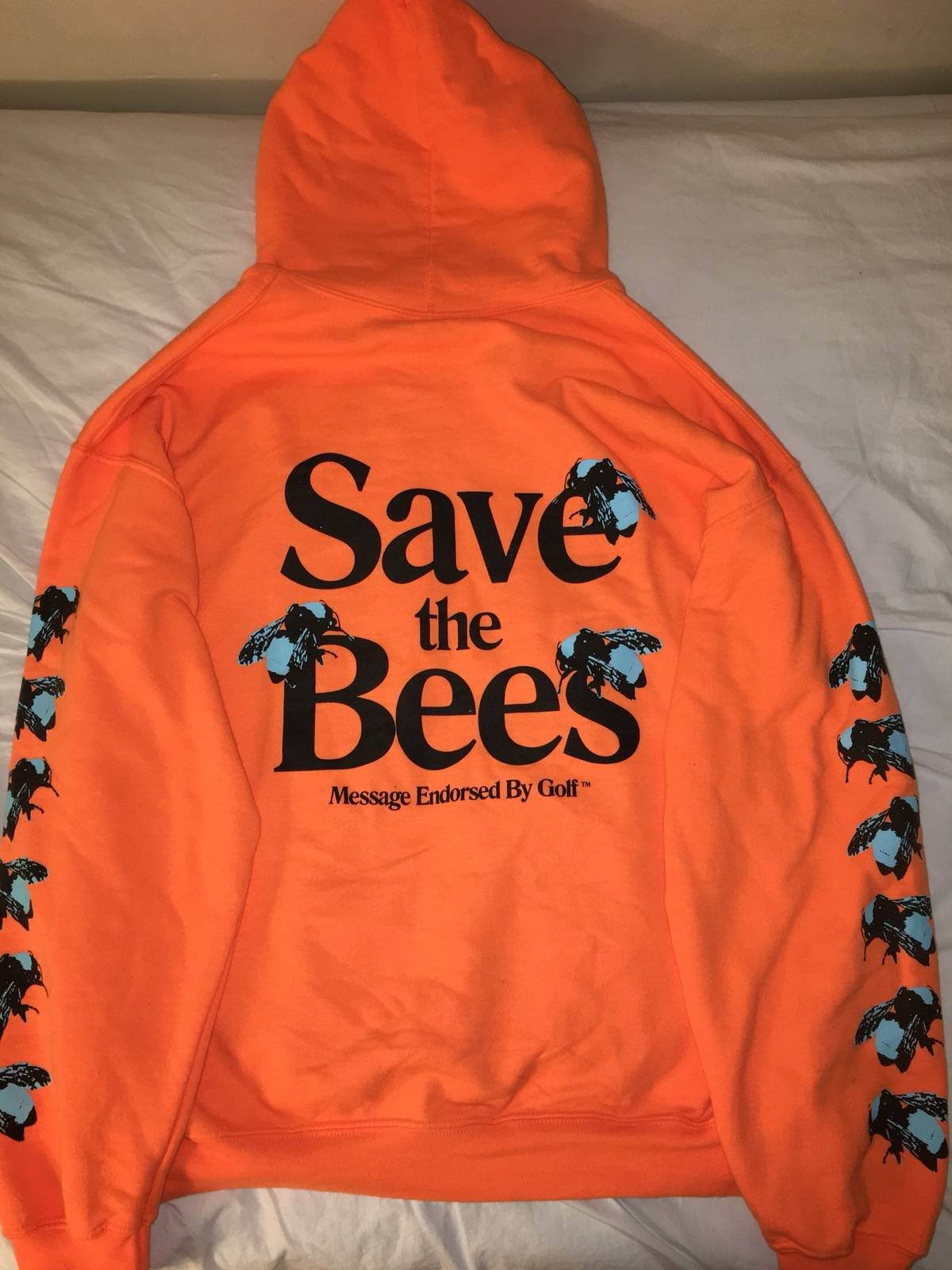 151587ef3f8a Golf Wang Save The Bees Hoodie Size l - Sweatshirts   Hoodies for Sale -  Grailed