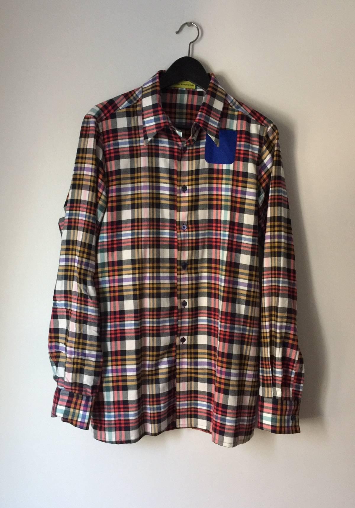 Petite flannel pockets — 2