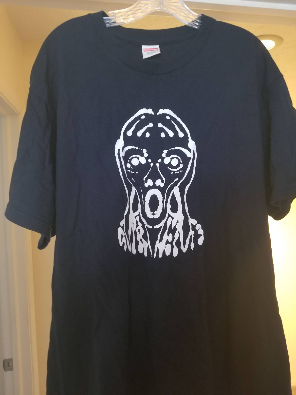 87a663683866 Supreme Supreme Scream Tee Navy Size xl - Short Sleeve T-Shirts for Sale -  Grailed