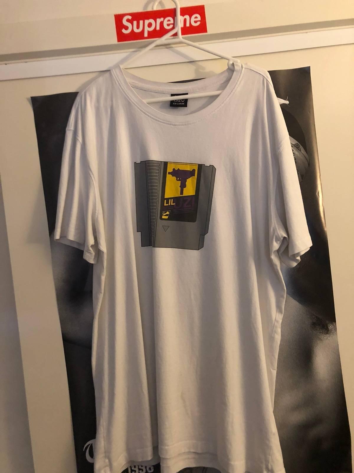 1861fe4e3795 G.o.a.t Crew G.o.a.t. Crew Lil Uzi Game Chip T-shirt | Grailed