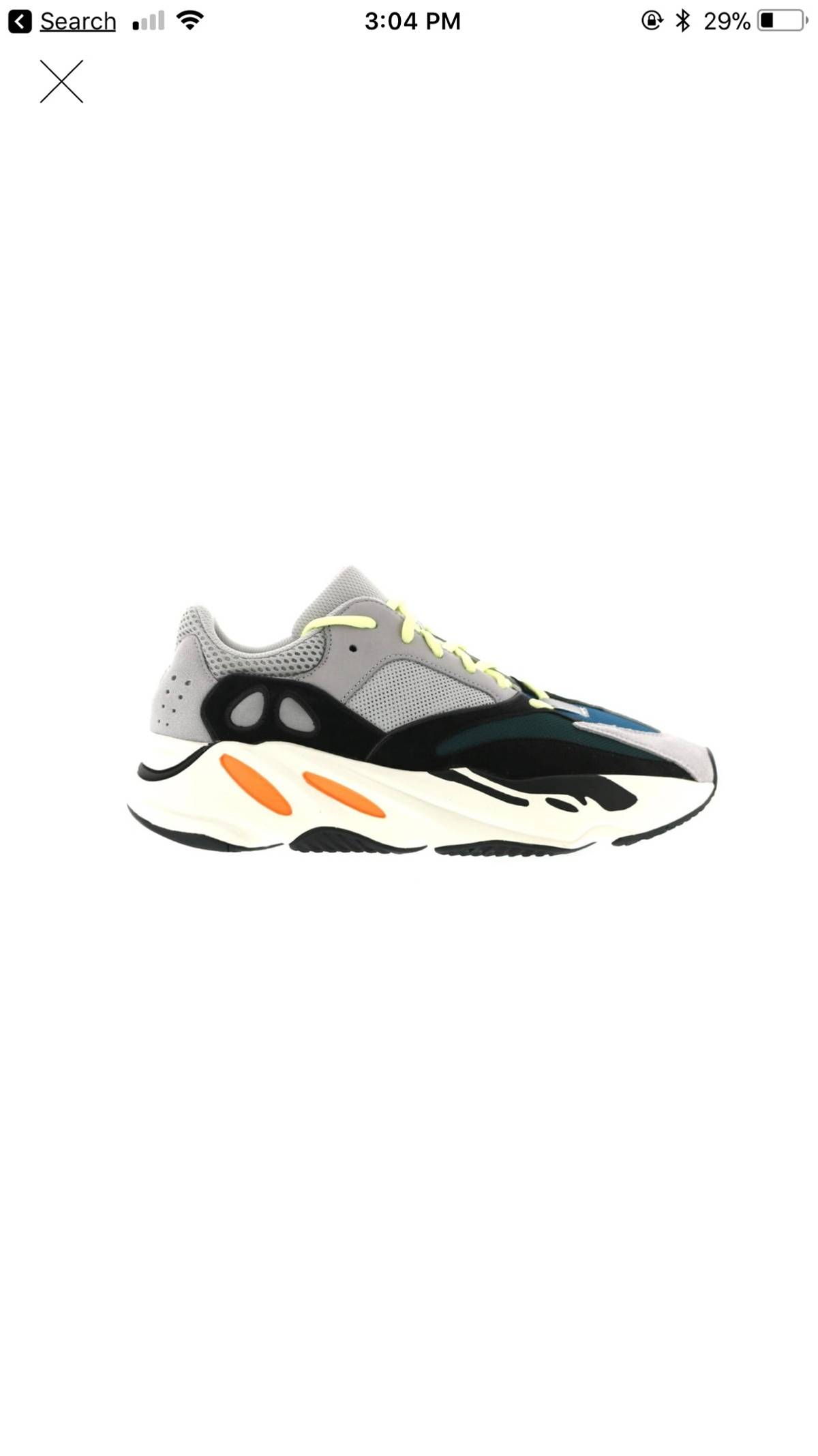 finest selection 78728 bd363 Adidas Kanye West Yeezy Wave Runner 700 Size 7.5 $607