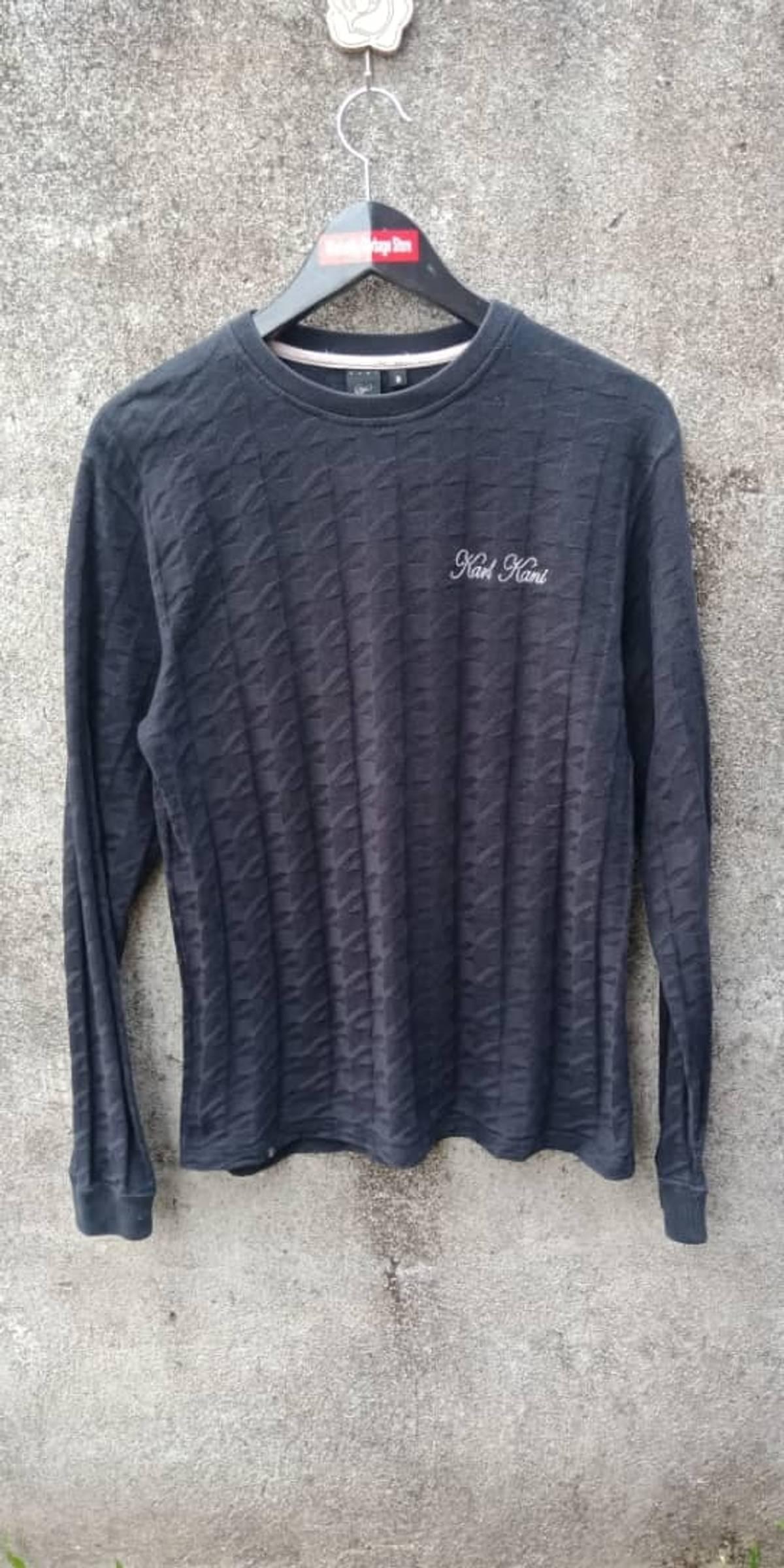 3d25cc1f6f Designer × Karl Kani Karl Kani Embroidery Sweatshirt Size M $63