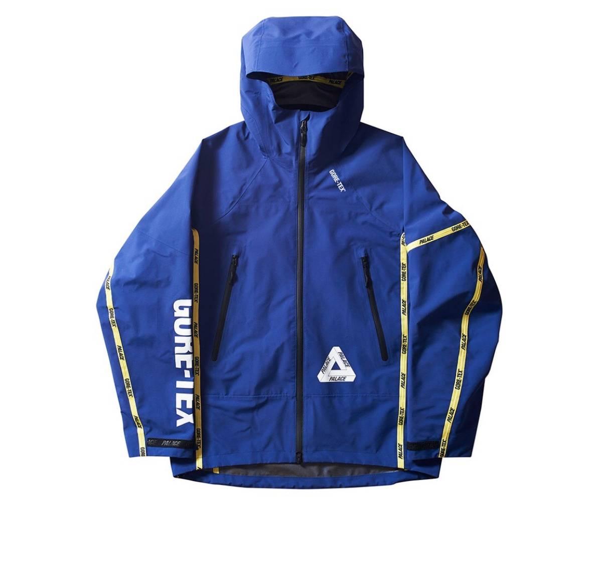 7051614c413a Palace Palace Gore Tex Jacket Blue Size s - Parkas for Sale - Grailed