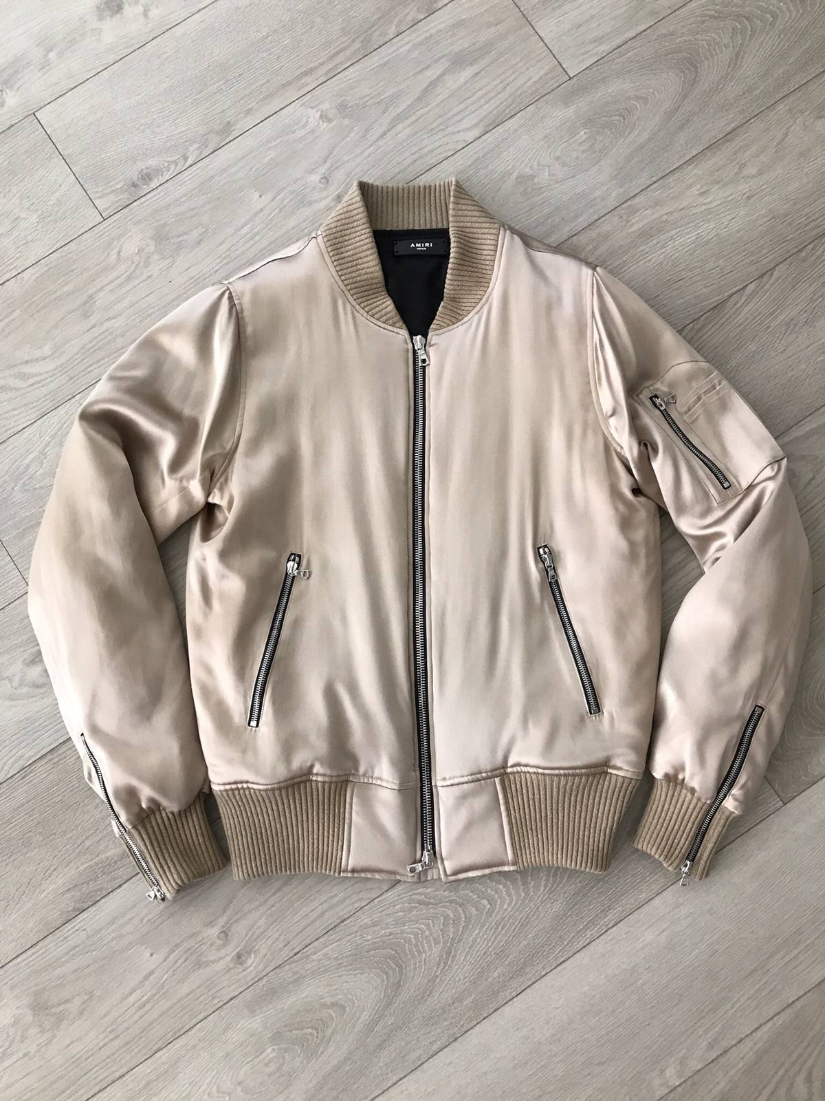 49c5165ba Amiri Silk Bomber Jacket Desert Size M $850