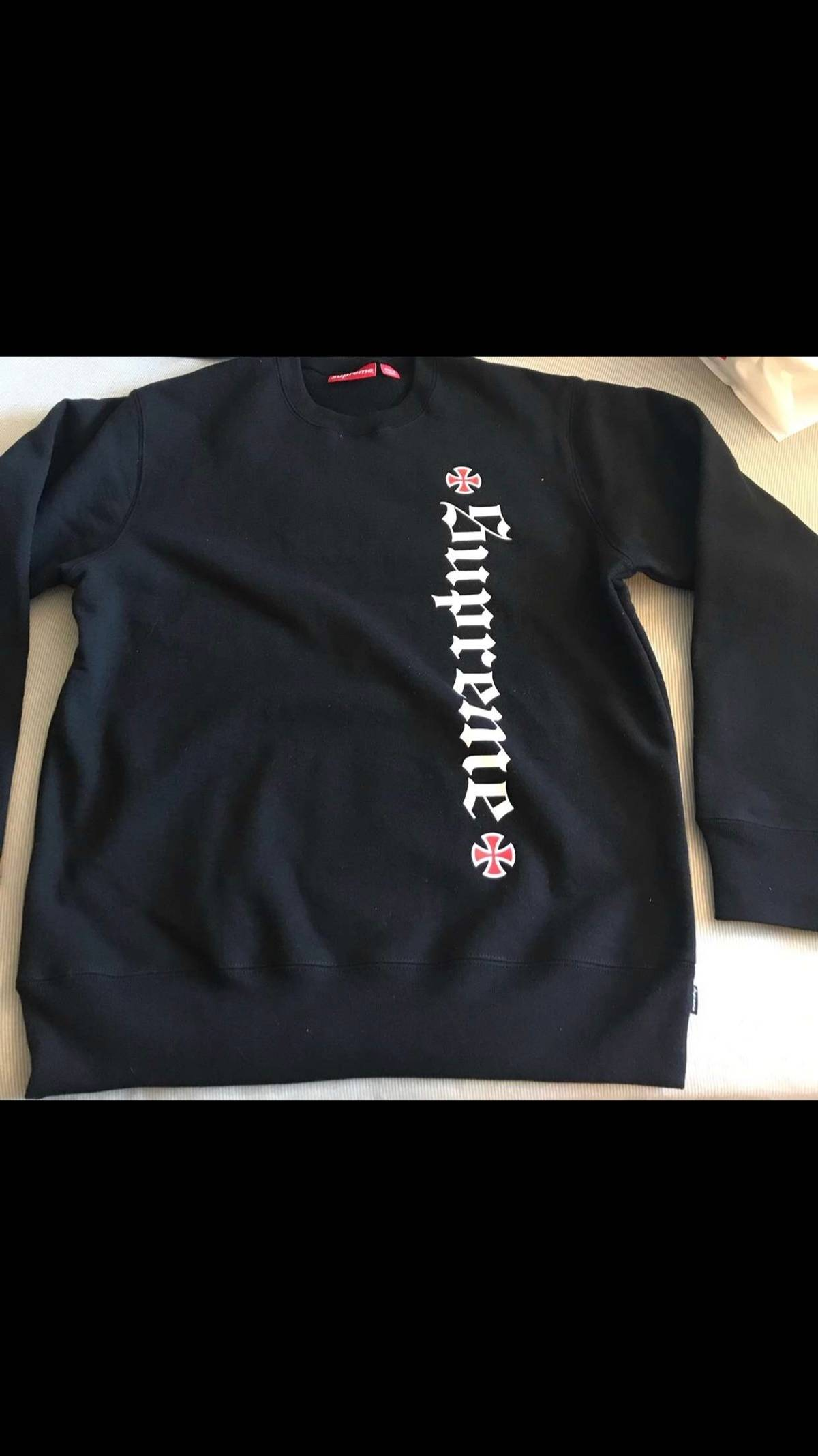 0a3ef9bde18 Supreme Supreme X Independent Crewneck Size m - Long Sleeve T-Shirts ...