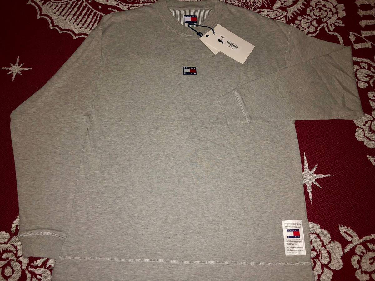 f334c796 Tommy Hilfiger Kith X Tommy Hilfiger Long Sleeve Tee (grey) | Grailed