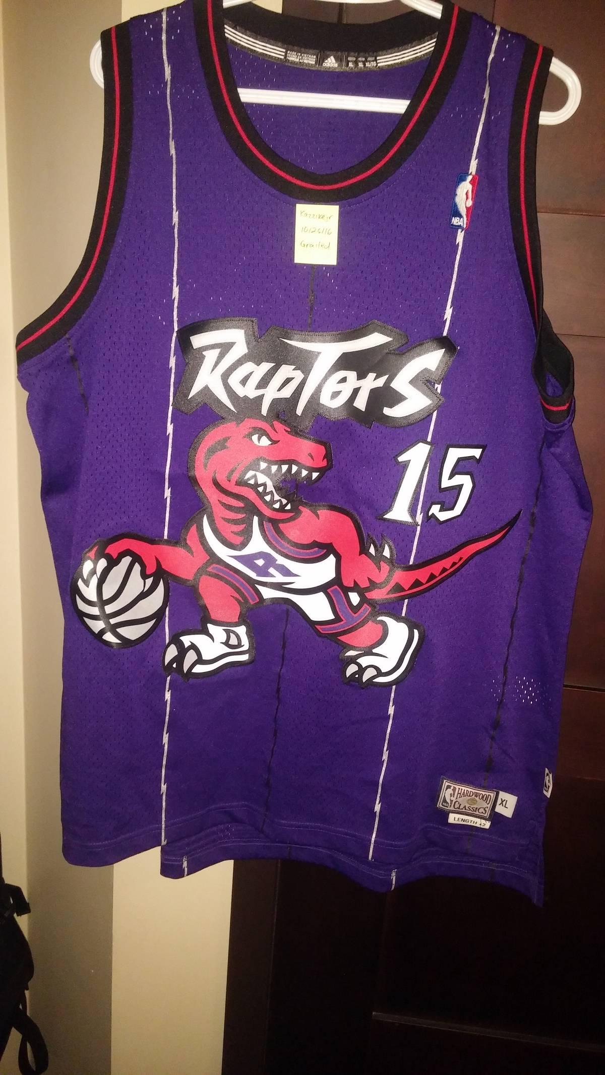 5a3755ce6 Adidas Toronto Raptors Vince Carter adidas Purple Hardwood Classics  Swingman Jersey Size xxl - Jerseys for Sale - Grailed