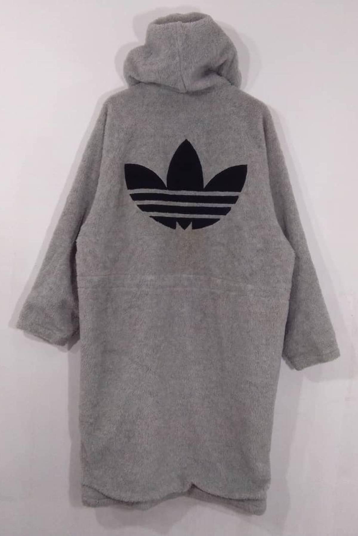 Adidas. Adidas Long Fleece Jacket Big Logo Hoodie. Not Nike Puma Kappa Tommy  Hilfiger ... 6424271eb8