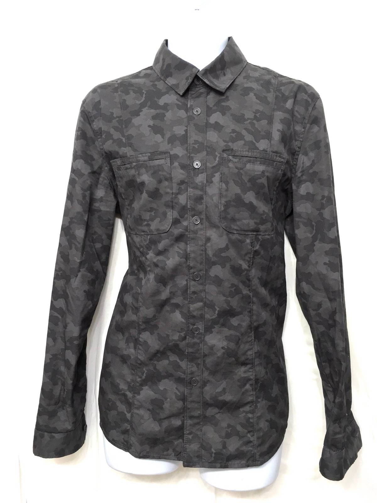 John Varvatos John Varvatos Star Usa Camo Print Shirt Jacket Size M