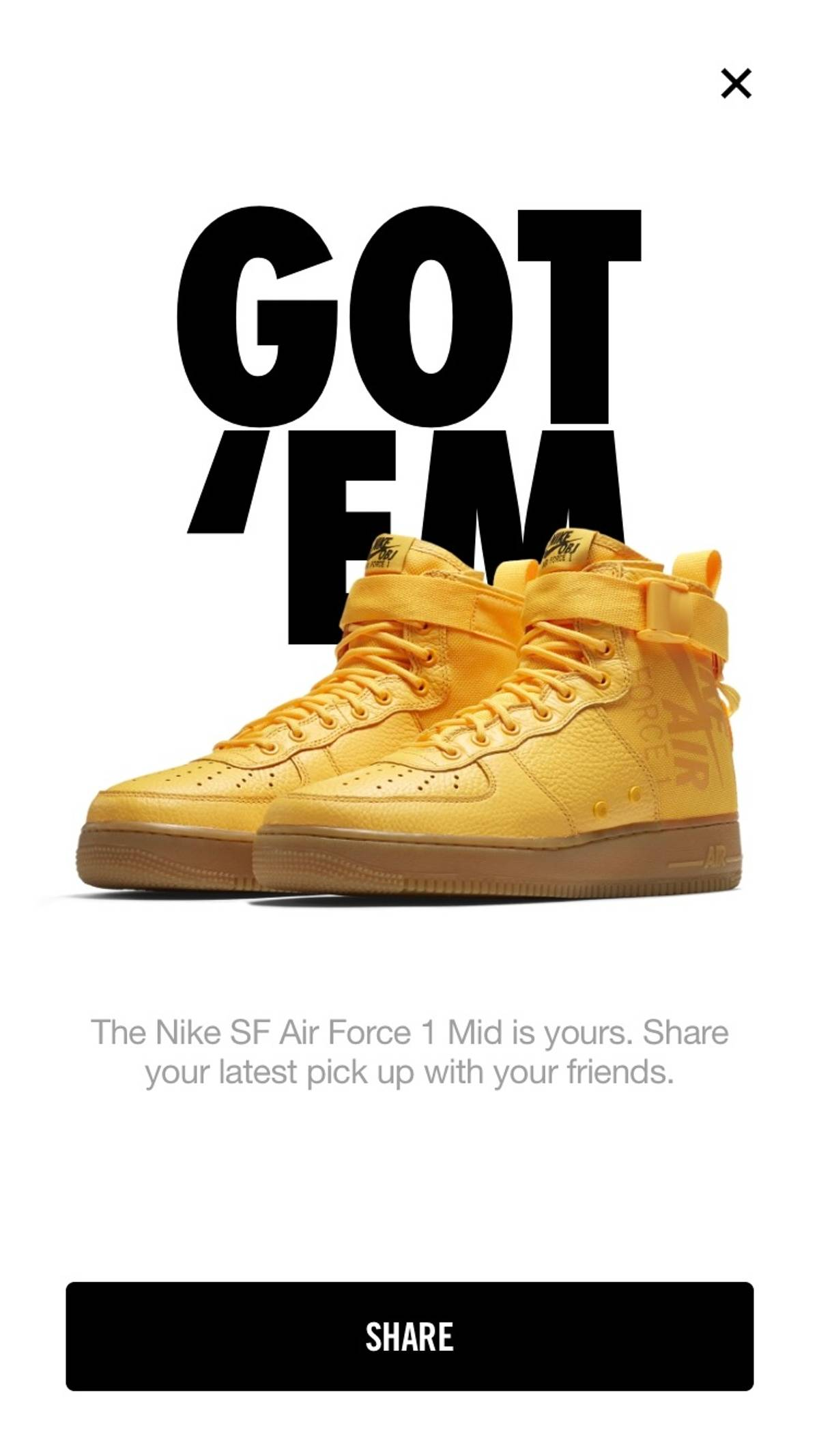 new product fa02d 4dcf8 Nike Special Field Air Force 1 Mid 'Obj' Size 13 $81