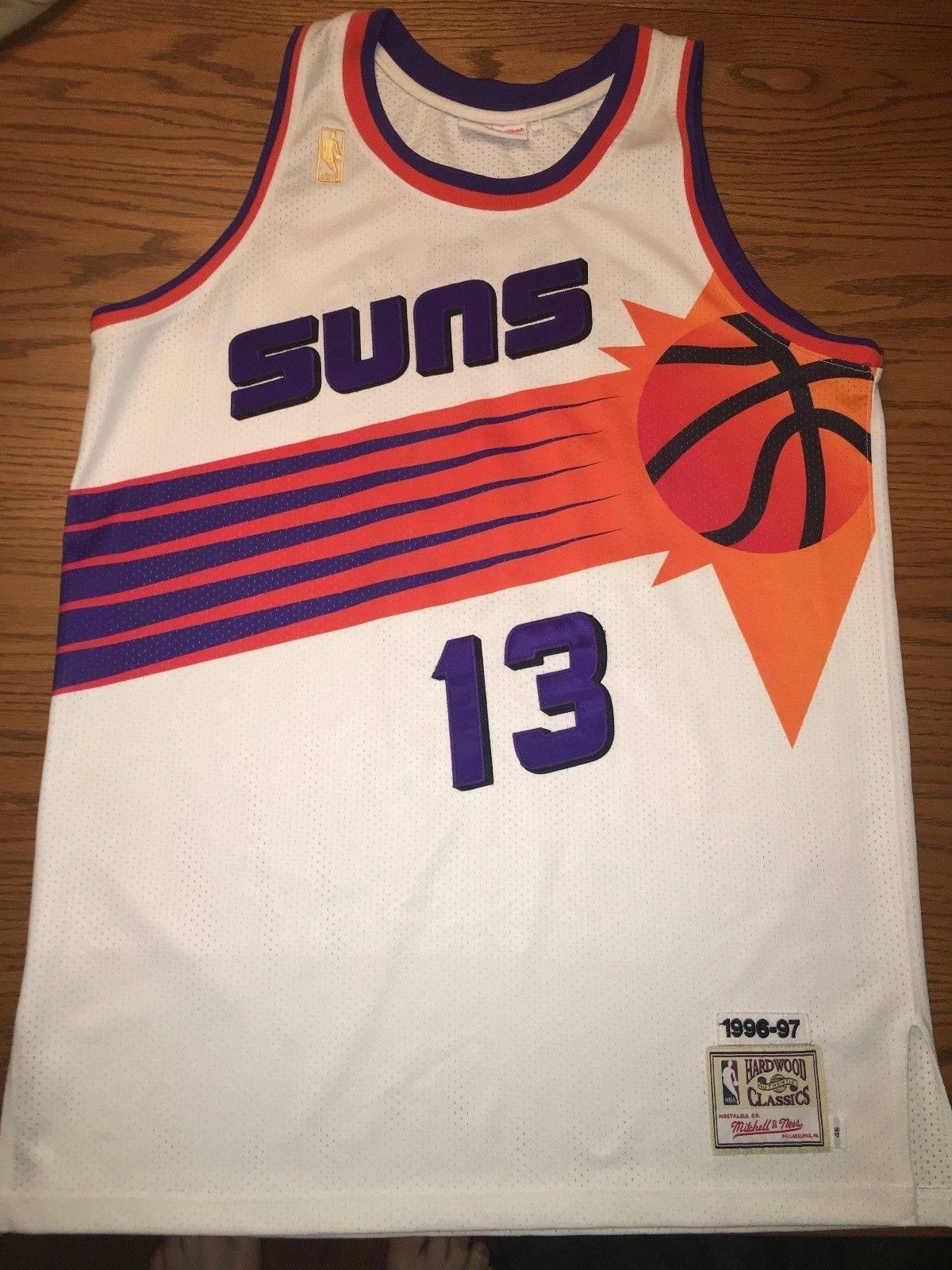 Mitchell /& Ness Steve Nash 1996-97 Phoenix Suns Season Authentic NBA Jersey
