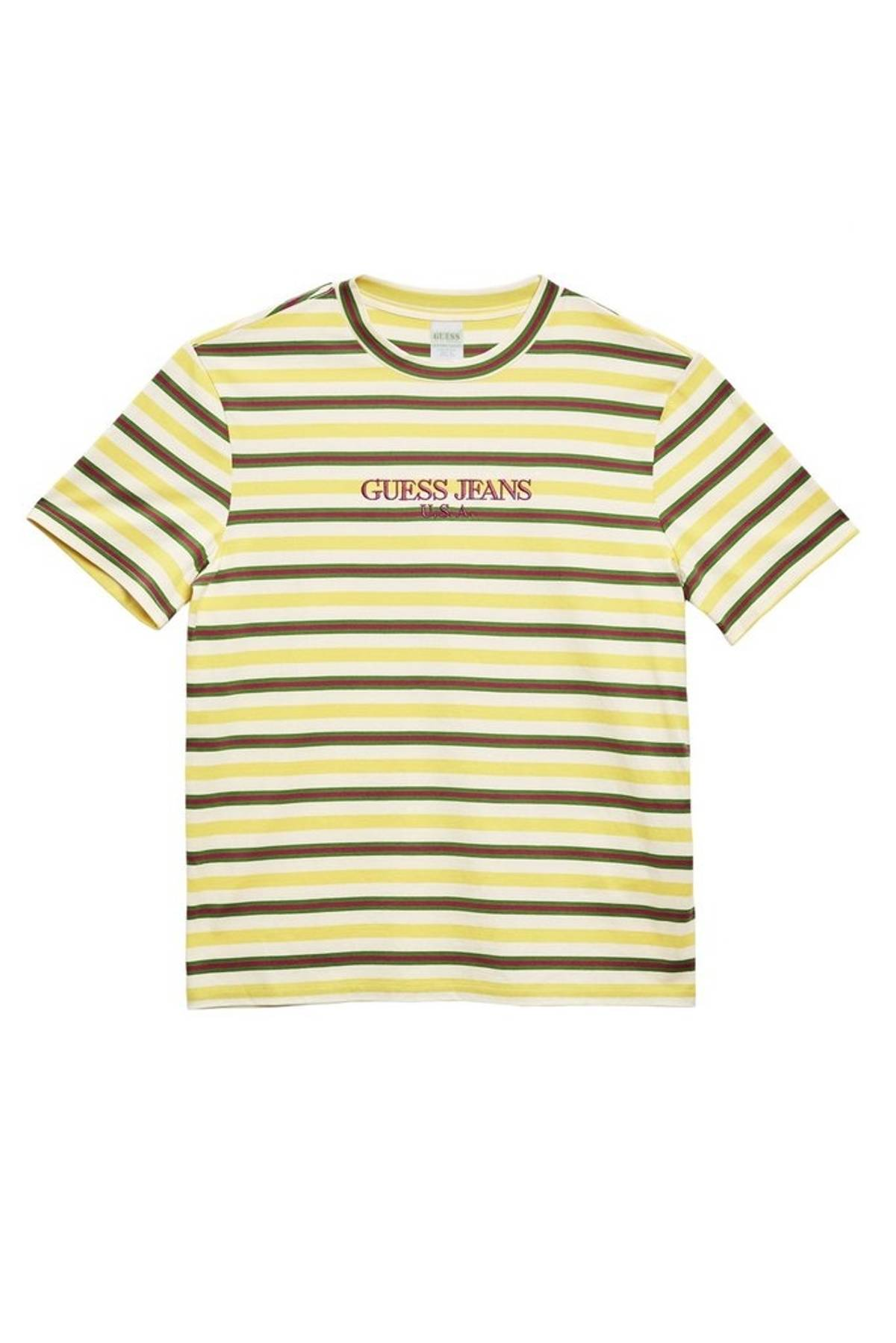 Guess Jeans Striped T Shirt Australia Ficts