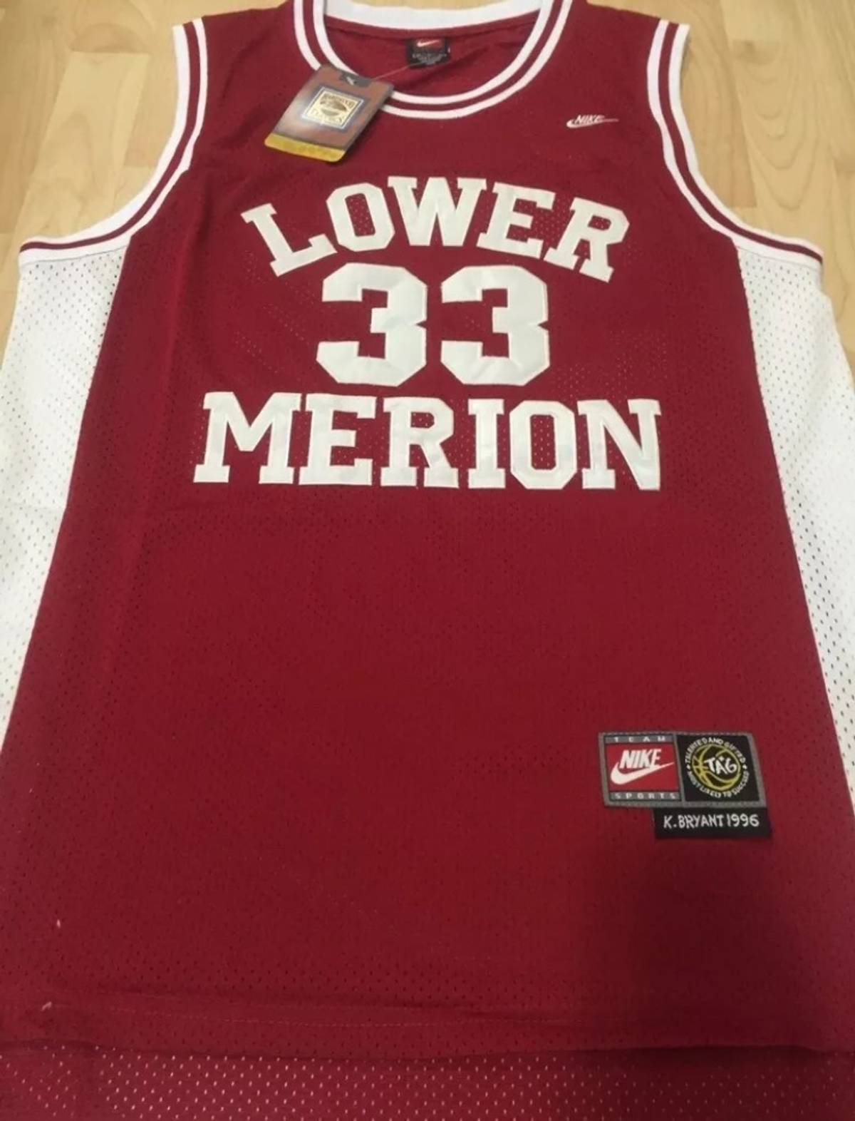 info for 6905d 4d4da Nike Lower Merion High School #33 Kobe Bryant Jerseys Size M $36