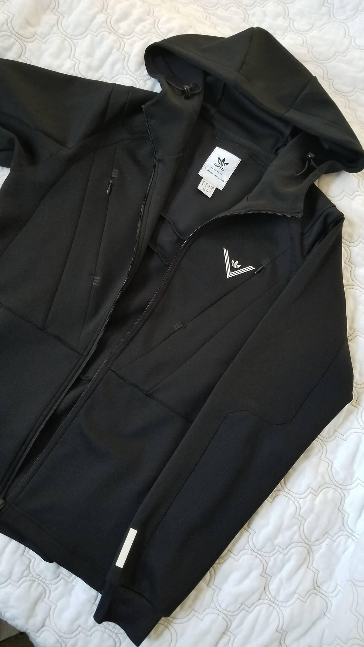 Adidas × White Mountaineering Wm Hooded Track Jacket Size S $80