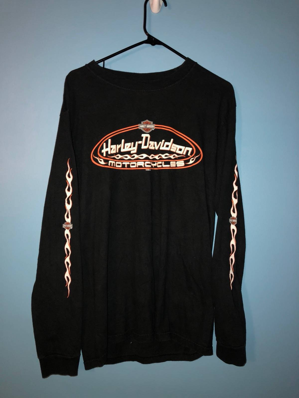 Harley Davidson Vintage Harley Tee Corpus Christi Size M Long