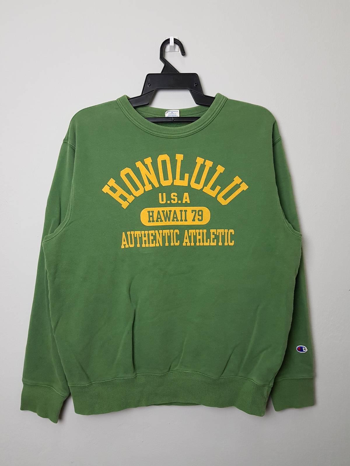 04dfd0c2e747 Vintage Vintage Champion Honolulu Authentic Athletic Sweatshirt ...
