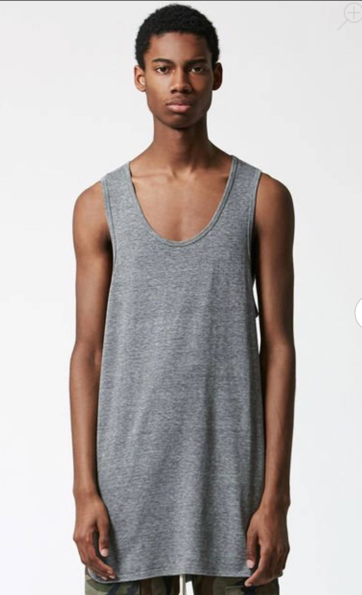 7883410b6949cb Fear of God FOG X PACSUN TANK - GREY Size m - Tank Tops   Sleeveless ...