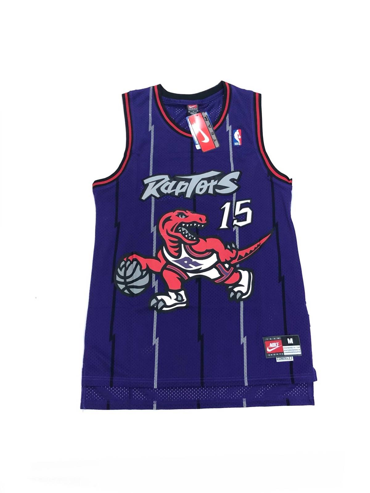 the latest 32458 e683c Nba × Nike 🏆 Vince Carter Raptors Jersey Purple Size L $64