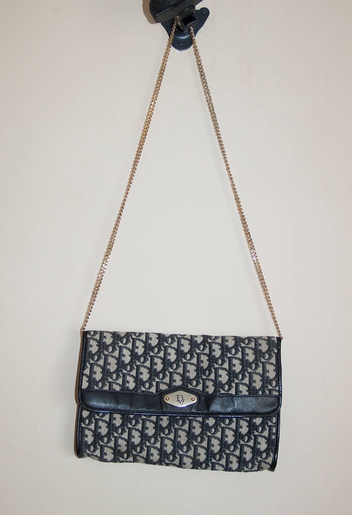 21fc138033926d Dior 80's Dior Vintage Monogram Muff Bag Made In France | Grailed